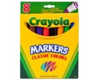 Crayola Classic Colours Markers 8-Pack 1