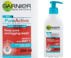 Garnier Pure Active Deep Pore Wash 200ml 1