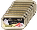 10 x Ultimates Indulge Cat Food Chicken & Lobster 85g 2