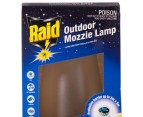 2x Raid Protector Outdoor Mozzie Lamps 2