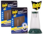 2x Raid Protector Outdoor Mozzie Lamps 3