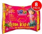 8x Dora Hand & Face Wipes 30pk 2