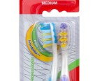 Colgate Total Prof Toothbrush 2pk Medium 2