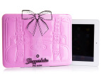 "Shopperholic 11"" iPad Sleeve - Pale Pink 1"