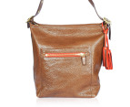 Coach Legacy Leather Large Duffle Bag - Brown 1