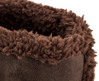 Grosby Women's Invisible Boot Slippers - Brown 3