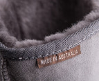 Australian Leather Long Classic Ugg Boots - Grey - 7-8 3