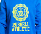 Russell Athletic Men's Campus Stamp Crew - Blue  3