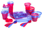 Nuby Wash or Toss 28-Piece Feeding Pack 7