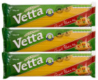3x Vetta Angel Hair Spaghetti #6 500g 1