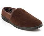 Grosby Men's Samson Slippers - Chocolate - UK Men 8 1