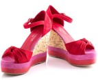 Boston Babe Mabli Wedge - Red Infusion - EU Size 39 3