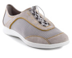 Rockport Women's Yezenia Bungee - Grey/Gold 4