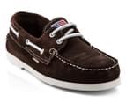 U.S. Polo Assn. Men's Boat Shoe - Brown 1