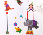 Circus Animals Wall Decals 2