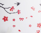 Red Cherry Blossom Wall Decal 3