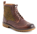 Clarks Men's Montacute Lord Boot - Brown Combi 4
