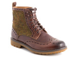Clarks Men's Montacute Lord Boot - Brown Combi 1