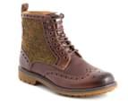 Clarks Men's Montacute Lord Boot - Brown Combi 1