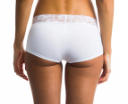 2 x Kayser Women's Rosie Shorts Briefs - White 3