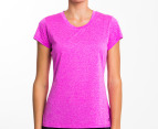 Champion Women's Duo Dry Endurance Tee - Fuchsia 1