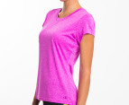 Champion Women's Duo Dry Endurance Tee - Fuchsia 2
