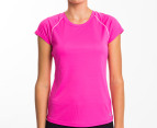 Champion Women's Tech Tee - Pink 1