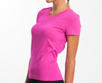 Champion Women's XM Short Sleeve Seamless Tee - Pink 2