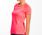Champion Women's Training Tee - Neon Coral 2