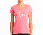 New Balance Women's Ribbon Tee - Pink 1