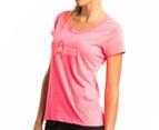 New Balance Women's Ribbon Tee - Pink 3