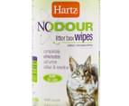 2x Hartz Nodour Litter Box Wipes 30pk  2