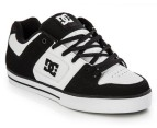 Men's DC Pure Shoes - Black/White/White - US Men 9 1