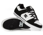 Men's DC Pure Shoes - Black/White/White - US Men 9 3