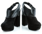 Luxe Dolcie Block Heel Shoes - Black - Euro Size 38 3