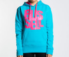 Russell Athletic Women's Fusion Hoodie - Aqua - Womens 8 1