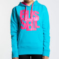 Russell Athletic Women's Fusion Hoodie - Aqua - Womens 8 4