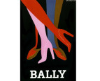 Bally Shoes by Villemot 75 x 50cm Canvas 2