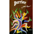 Perrier C'est by Villemot 75 x 50cm Canvas 2