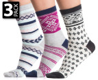 Gallaz Women's Fair Isle Sock 3-Pack 1