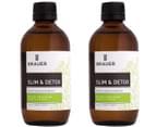 Brauer Slim + Detox Oral Liquid 200mL 2pk 2