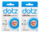 2 x Dotz Cold Sore Patches 14pk 1