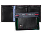 Tommy Hilfiger Oxford Slim Trifold Wallet - Black 1