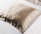 Sheridan Millswyn Tailored European Pillowcase - Flax 3