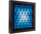 3D Wall Art 40 x 40cm - Blue 2