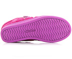 Skechers Girls' Hydee Plus 2 High-Tops - Neon Pink/Multi 3