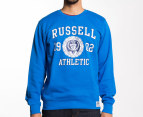 Russell Athletic Men's Sport Crew Sweater - Sport Blue 1