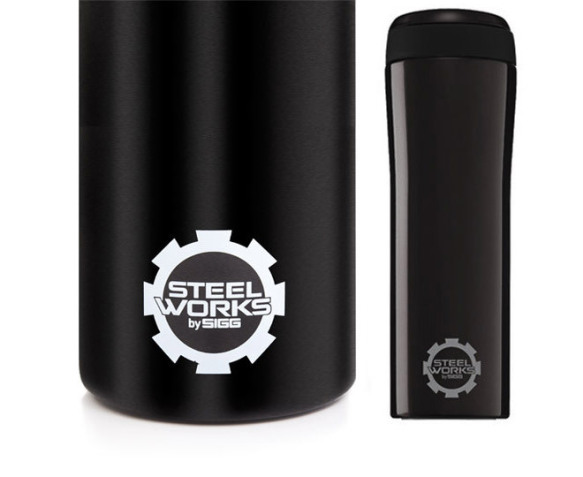 Steelworks Sigg Thermos Steelworks by Sigg S/steel