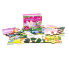 24 Piece Floor Puzzle & Book - Fantasy Land 2