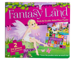 24 Piece Floor Puzzle & Book - Fantasy Land 1